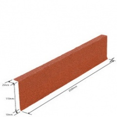 114 -5 INCH FASCIA FLASHING